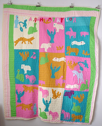 taylor animals quilt